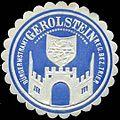 Siegelmarke Bürgermeisteramt Gerolstein Reg. Bez. Trier W0310447.jpg