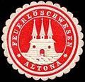 Siegelmarke Feuerlöschwesen - Altona W0246676.jpg