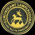 Siegelmarke Gemeindeamt Lampersdorf, pol. Bezirk Trautenau W0318329.jpg