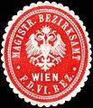 Siegelmarke Magistrat Bezirksamt für den VI. Bezirk Wien W0317945.jpg