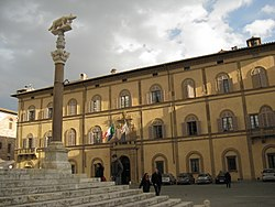 Palazzo Reale in Siena, the provincial seat.