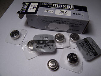 Silver-oxide battery - Silver oxide cells