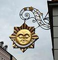 Simbach am Inn, Aushänger von Prof. Alfred Habermann.jpg