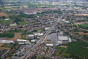 Sint-Pieters-Leeuw - Image: Sint Pieters Leeuw aerial photo A