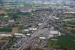 Sint-Pieters-Leeuw Municipality in Flemish Community, Belgium