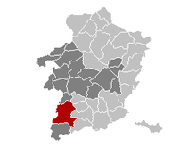Sint-Truiden municipality in the province of Limburg
