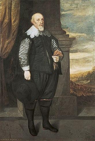 Arthur Ingram - Sir Arthur Ingram by George Geldorp
