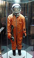 Sk-1 spacesuit taken at the Memorial Museum of Space Exploration