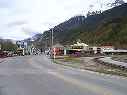 Broadway Avenue, Skagway, May 2007