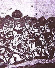 Sketch of Battle of Bhuchar Mori from Yaduvanshprakash.jpg