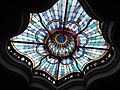 Skylight of the lobby. - Budapest Museum of Applied Arts.JPG