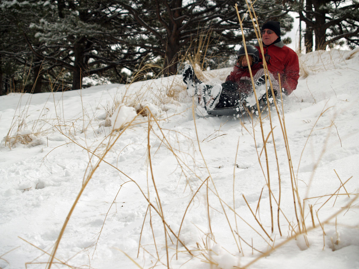 Sledding Wikipedia - The best sledding hills in north america
