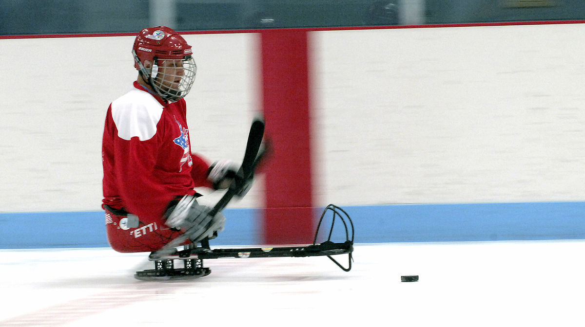 sledge hockey wikipedia. Black Bedroom Furniture Sets. Home Design Ideas