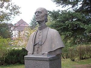 Andrej Hlinka - Andrej Hlinka statue in Prešov