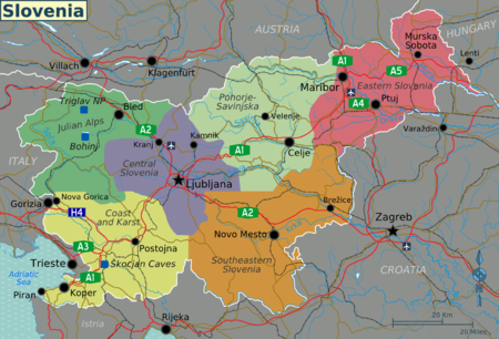 Slovenia Travel Guide At Wikivoyage - Slovenia map download