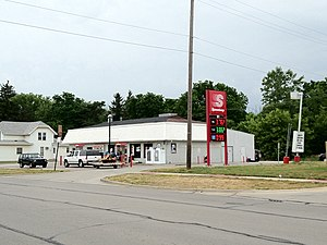 Speedway LLC - Smaller Speedway store, converted from Total when Speedway purchased some of their former locations