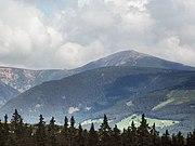 Sněžka from Černá hora (CZE)