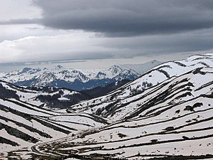 Snow at Bistra Mountain, Macedonia.jpg