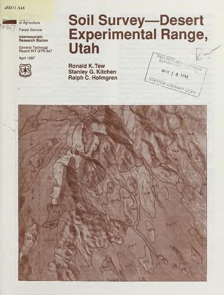 File:Soil survey-Desert Experimental Range, Utah (IA CAT10827702).pdf