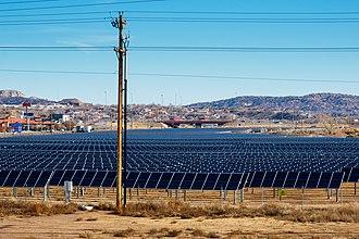 Gallup, New Mexico - Image: Solar farm in Gallup NM