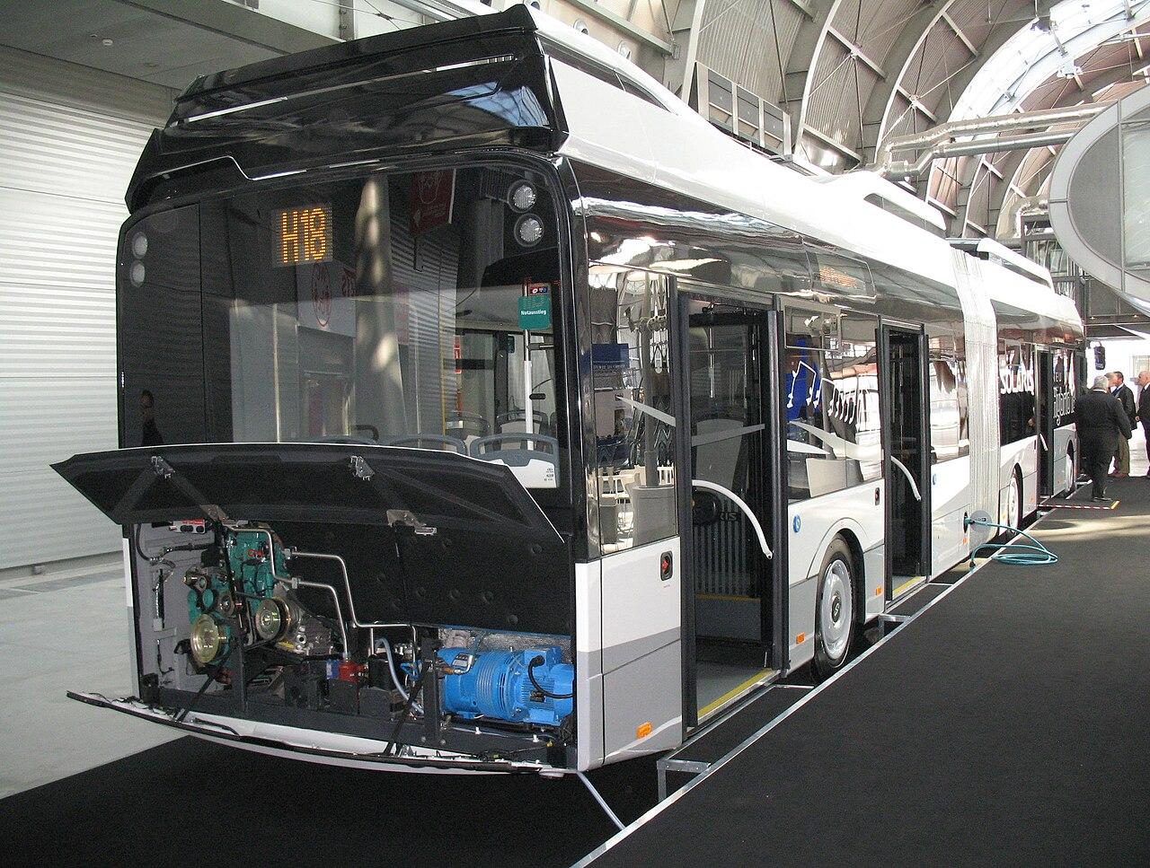 VK Sondermodell 1063 Solaris Urbino 18 Hybrid Bogestra Nr 4 Wg