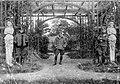 Soldier, uniform, men, First World War, sculpture Fortepan 8215.jpg