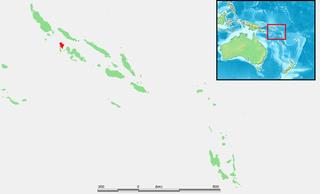 Vella Lavella island