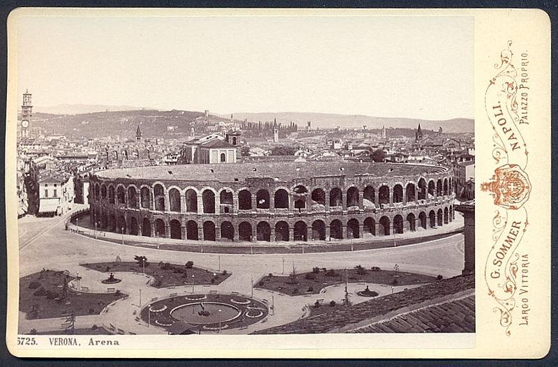 File:Sommer, Giorgio (1834-1914) - n. 6725. VERONA, Arena.jpg