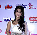 Sonarika Bhadoria at the DVD launch of 'Mahadev'.jpg