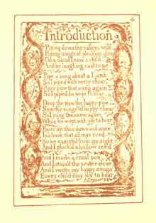 Songs of Innocence and Experience, page 4 (Ellis facsimile).png