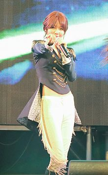 Sooyoung at Ara Waterway Open Concert in May 2012 01.jpg