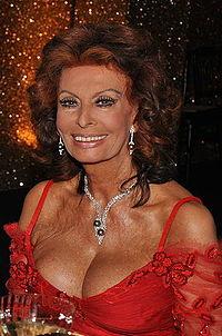 Sophia a los 75 años (junio 2009)