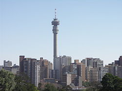 Hillbrow and the Hillbrow Tower