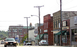 South Hill, Virginia - Route 1 in downtown South Hill
