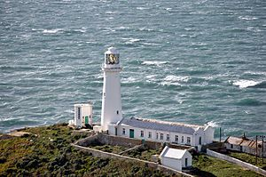 South Stack Lighthouse - South Stack Lighthouse in 2012