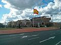 Spanish flag in Llanos del Pretorio.jpg