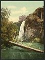 Spearfish Falls, South Dakota-LCCN2008678289.jpg