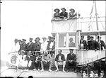 Spectators watching a sailing race aboard the ferry NEWCASTLE (7410972064).jpg