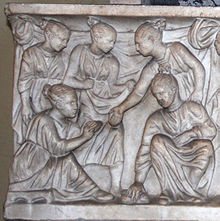who was educated in ancient rome