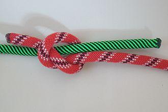 Fisherman's knot - Image: Spierenstich 1