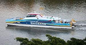 Spirit of Brisbane ferry