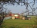 Spraying wheat at New Barn farm - geograph.org.uk - 379322.jpg