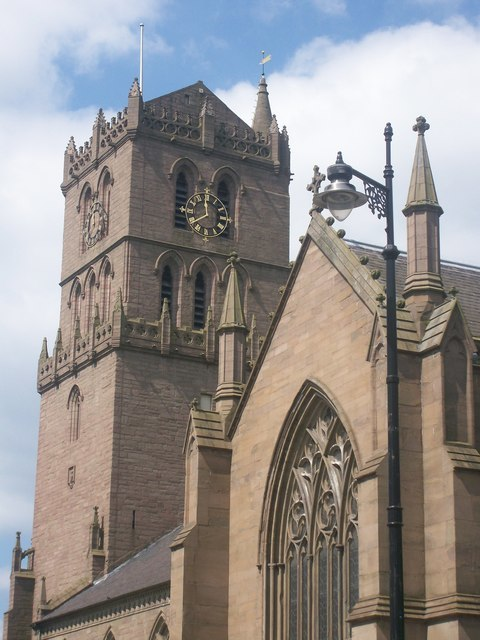 St. Mary's Tower, Dundee - geograph.org.uk - 1204975