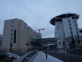 St. Olav's University Hospital - St. Olav's seen from Nidelva
