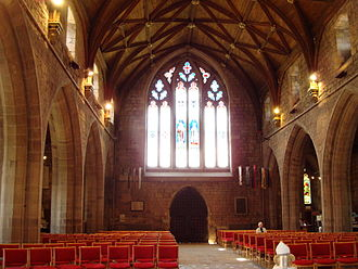St Asaph Cathedral - Interior – nave and west end