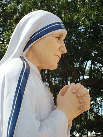 Hell's Angel (documentary) - Statue of Mother Teresa at St. Thomas Mount, Chennai, India