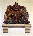 St Cuthbert, Thetford, Norfolk - Royal Arms - geograph.org.uk - 1703277.jpg