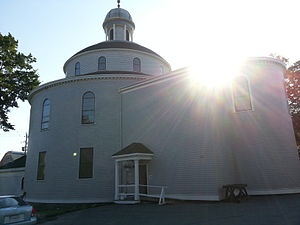 St. George's (Round) Church, Halifax, Nova Scotia - Image: St George's Round Church, Halifax, Nova Scotia