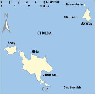 Soay, St Kilda - The St Kilda archipelago