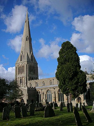 Raunds - St Peter's church